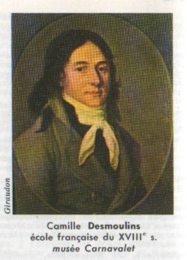 À la révolution et finit guillotiné à paris le 5 avril 1794