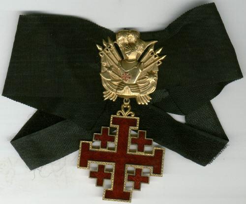 Иерусалимский Крест Описание